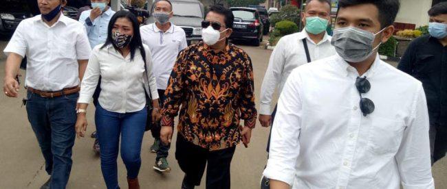 Sekdis DPKPP Kabupaten Bogor Iryanto dibebaskan dari tahanan (dok. publikbicara)