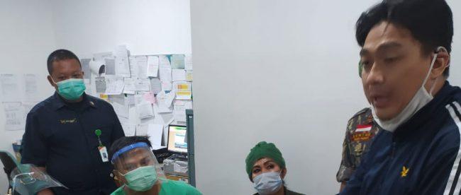 Ormas BBRP memberi pendampingan terhadap keluarga jenazah bayi yang sempat ditahan di RS Hermina Yasmin Kota Bogor (dok. KM)
