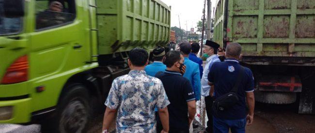 Kunjungan anggota DPRD Jawa Barat Asep Wahyuwijaya ke Parungpanjang, Kabupaten Bogor, Sabtu 7/11/2020 (dok. KM)