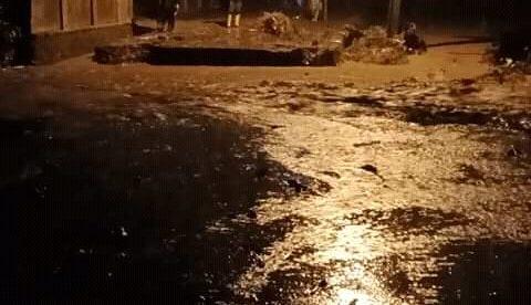 Banjir melanda sebagian wilayah Subang Selatan, Rabu 2/12/2020 (dok. KM)