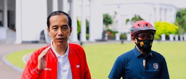 Presiden Joko Widodo di Istana bogor, 13/12/2020 (dok. Setpres)