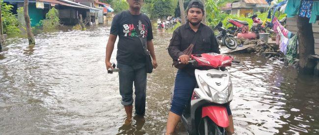 Banjir di Datuk Bandar dan Datuk Bandar Timur, Kota Tanjungbalai (dok. KM)