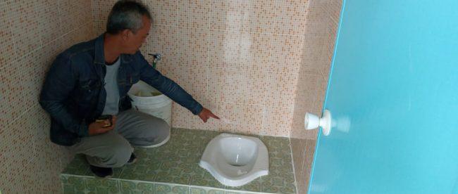 Penampakan toilet berharga hampir Rp200 juta di Madiun (dok. KM)