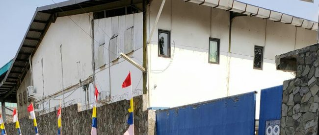 Lokasi Perusahaan CV. Saesar Pratama di Jalan Neman, Pengasinan, Rawa Lumbu, Kota Bekasi (dok. KM)