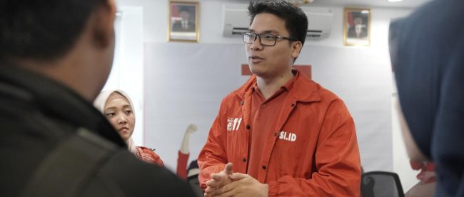 Ketua DPW PSI DKI Jakarta, Michael Victor Sianipar (dok. Hari Setiawan Muhammad Yasin/KM)