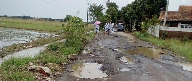 Ruas Jalan Wates-Jatimulya, Kabupaten Subang (dok. KM)
