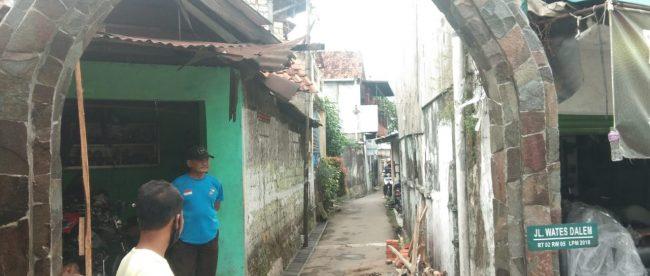Pekerjaan Gapura Situs Punden Berundak di Pasirmulya senilai Rp98.010.781,00 (dok. KM)