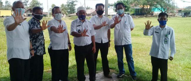Disperkim Jawa Barat Survei Lapangan Parungpanjang yang Akan dibuat Alun-Alun Parungpanjang, Rabu siang 23/12/2020 (dok. Hari Setiawan Muhammad Yasin/KM)