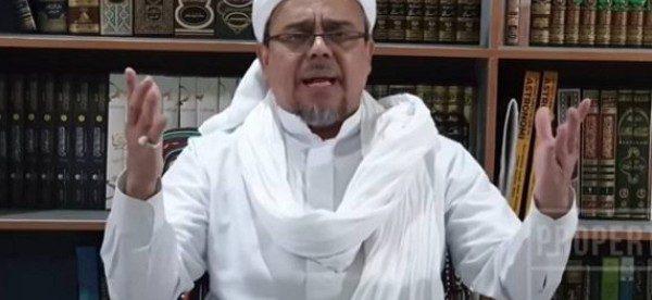 Habib Rizieq Shihab (stock)