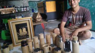 Pengrajin Bambu asal Bogor, Kang Micky (dok. KM)