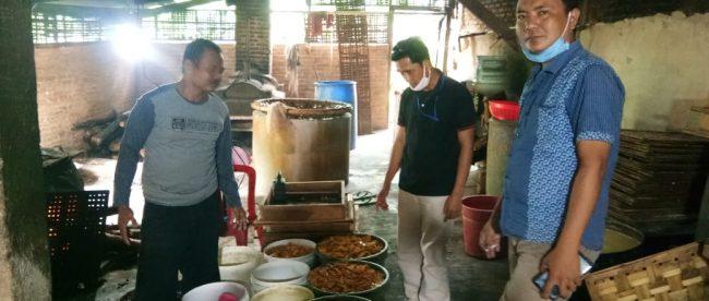 Produsen tahu dan tempe olahan home industry di Lampung Utara (dok. KM)
