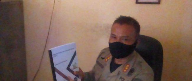 Kasi Trantib Kecamatan Pagaden Barat, Indra Sugriana (dok. KM)