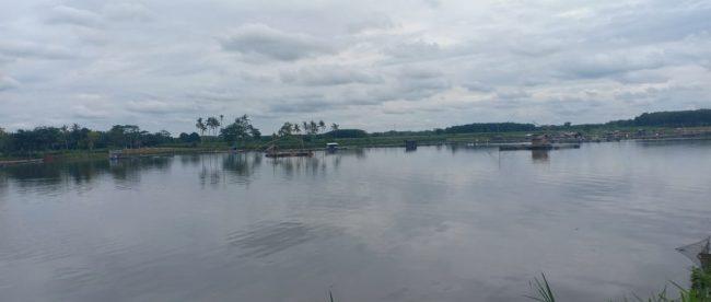 Waduk Bendungan Way Tebabeng, Lampung Utara (dok. KM)