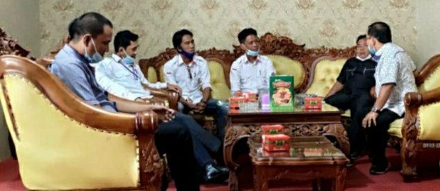 Audiensi FORJIL dengan pimpinan DPRD Lampung Utara, Selasa 12/1/2021 (dok. KM)