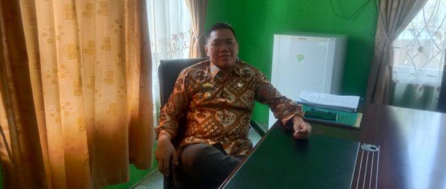 Kepala Dinas Pendidikan dan Kebudayaan Lampung Utara, Mat Soleh (dok. KM)