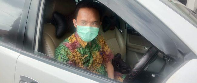 Kepala dinas Kesehatan Lampung Utara, dr. Dian (dok. KM)