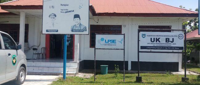 Kantor Unit Layanan Pengadaan(ULP) Dinas PUPR Bengkulu Selatan