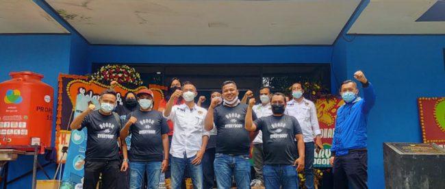 Kunjungan PWI Halmahera Selatan ke PWI Kota Bogor (Rabu 17/02/2021).