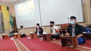 Tasyakuran PCNU Kota Bogor, Minggu 31/1/2021 (dok. KM)