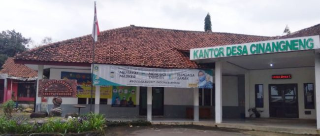 Kantor desa Cinangneng, Kecamatan Tenjolaya, Kabupaten Bogor (dok. KM)