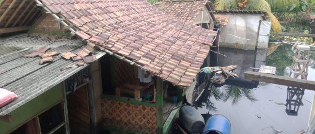 Kondisi kompleks pondok pesantren Al Jauhariah di Cikande, Serang (dok. KM)