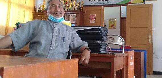 Kepala SMKN 1 Binong, Delik (dok. KM)