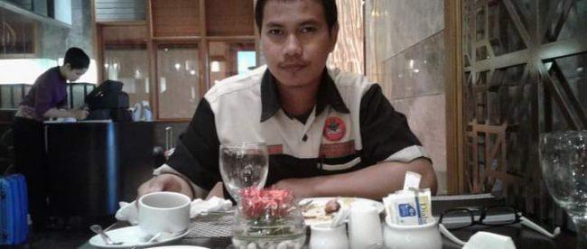 Riswan Mustani, ketua Pimpinan daerah Pemuda Muhammadiyah Kota Tanjungbalai (dok. KM)