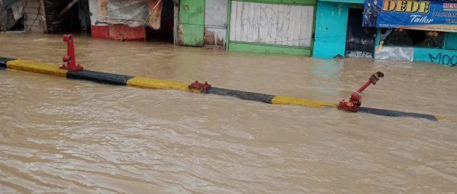 Banjir di Jl. Pantura Pamanukan, Kabupaten Subang (dok. KM)