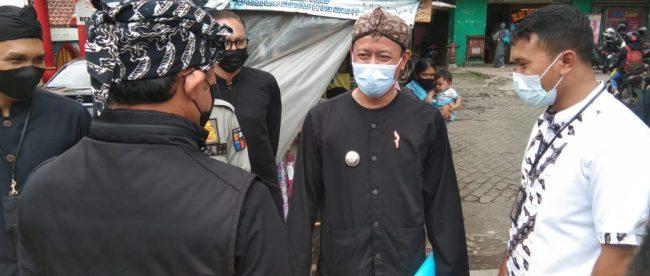 Camat Bogor Tengah Abdul Wahid saat monitoring wilayah (dok. KM)
