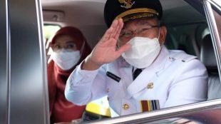 Wali Kota Depok Mohammad Idris beserta Istri (istimewa)