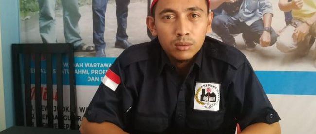 Ketua Perkumpulan Wartawan Serang Timur (PERWAST), Angga Apria Siswanto (dok. KM)