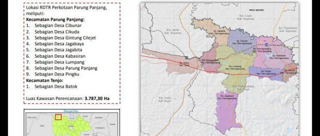 RDTR Perkotaan Parungpanjang (dok. KM)