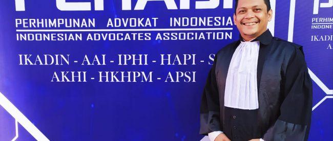 Praktisi hukum tanjungbalai, Ridho Damanik SH (dok. KM)