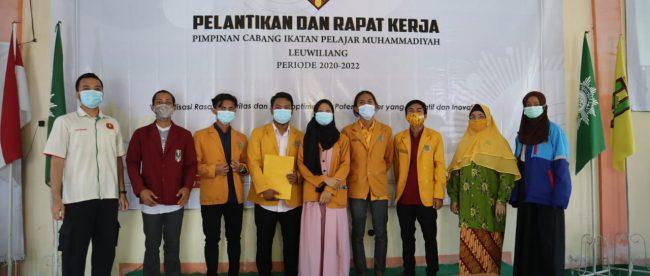 Pelantikan dan rapat kerja PC IPM Leuwiliang Kabupaten Bogor, Minggu 7/3/2020 (dok. KM)