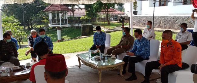 Bupati Subang terima audensi dengan seniman, Rabu 17/3/2021 (dok. KM)