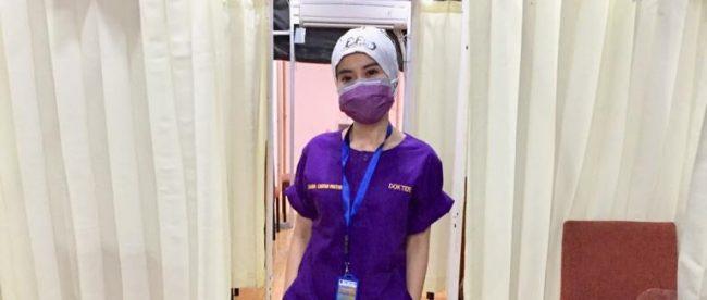 Kepala Departemen Publik Relation BMC Mayapada Hospital Bogor dr. Maria Linggar Pratiwi (dok.KM)