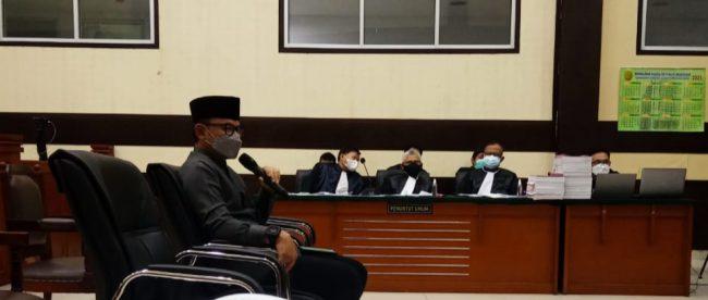 Sidang Rizieq Shihab di PN Jakarta Timur menghadirkan wali Kota Bogor Bima Arya (Istimewa)
