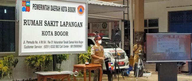 Peresmian RS Lapangan Kota Bogor pada Januari 2021 (dok. prokompimda)