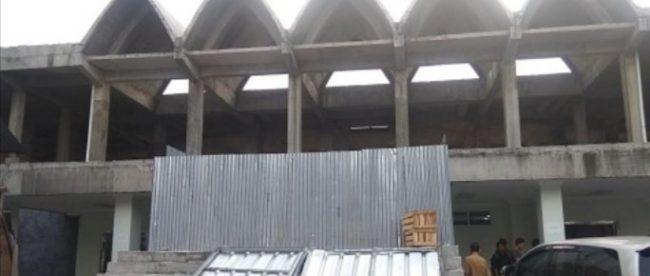 Kondisi Masjid Agung Kota Bogor yang mangkrak (dok. Bogorkita.com)