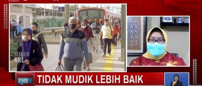 Bupati Sragen Yuni Sukowati tegaskan siapkan sanksi bagi para pemudik yang nekat mudik pada masa liburan Idul Fitri 2021 mendatang (Dok. KM)
