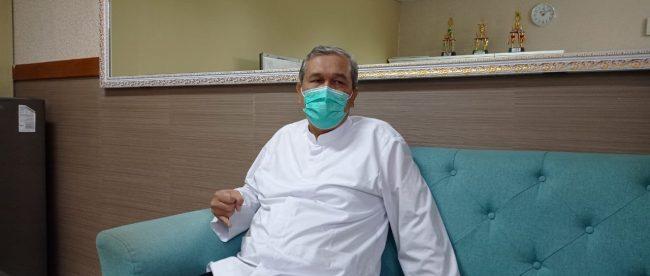 Direktur Utama RSUD Kota Bogor dr Ilham Chaidir (dok. KM)