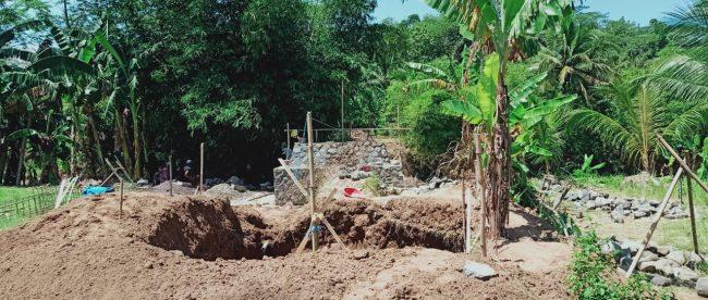 Lokasi pembangunan jembatan Cibodas, Kabupaten Sukabumi (dok. KM)