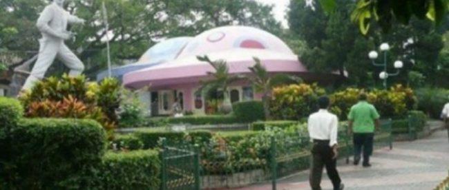 Kondisi Taman Topi dulu yang kini akan menjadi Alun-Alun Kota Bogor (foto istimewa)