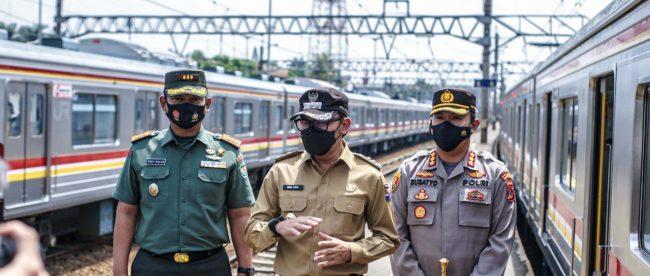 Wali Kota Bogor saat sidak Stasiun Bogor (dok. prokompimda)