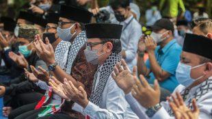 Doa bersama untuk Palestina (dok. prokopimda)