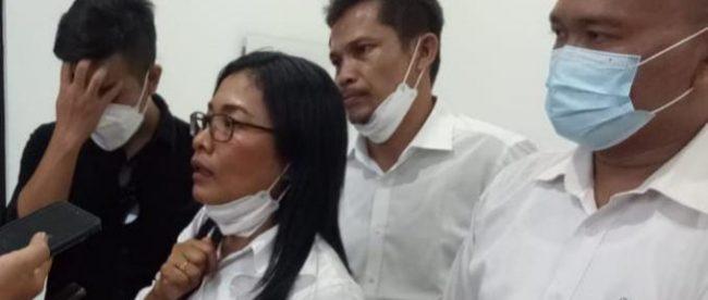 Tim pengacara mantan Sekdis DPKPP Kabupaten Bogor dari LBH Bara JP (dok. KM)