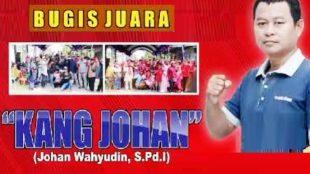 Mantan Kuwu Bugis Johan Wahyudin terpilih kembali, Jumat (4/6/2021)