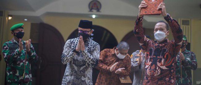 Penyerahan Lahan Hibah GKI Yasmin (dok. KM)