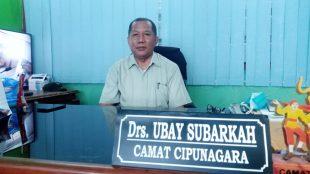 Camat Cipunagara, Ubay Subarkah (dok. KM)