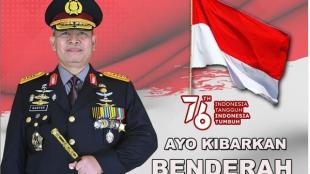 Kepala Kepolisian Daerah Bengkulu Irjen Pol. Drs. Guntur Setyanto, M, Si